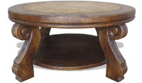 20 Collection of Square Dark Wood Coffee Table
