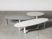 20 Ideas of White Oval Coffee Tables