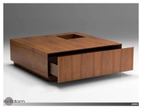 20 Collection of Dark Wood Square Coffee Tables