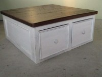 20 Ideas of White Coffee Tables With Storage