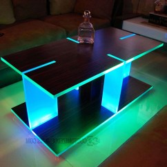 Led Table And Chairs Chair Design Poster 20 Inspirations Of Coffee Tables