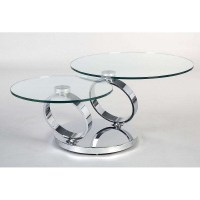 20 The Best Glass Circle Coffee Tables
