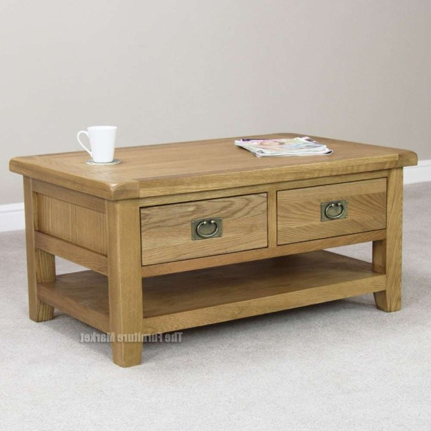 20 ideas of oak furniture coffee tables