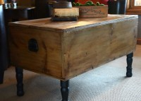 2018 Latest Dark Wood Chest Coffee Tables