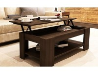 Espresso Coffee Table Set & Round Espresso Coffee Table