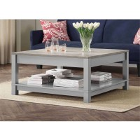 20 Ideas of Grey Wood Coffee Tables