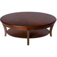 Showing Photos of Oval Walnut Coffee Tables (View 11 of 20