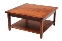 20 Photos Square Wooden Coffee Table
