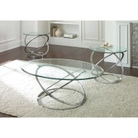 Steve Silver Coffee Table Sets & Silver Glass Coffee Table ...