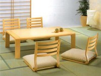 Japanese Low Table And Chairs Japanese Low Dining Table ...