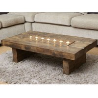 Image Gallery of Chunky Wood Coffee Tables (View 12 of 20 ...