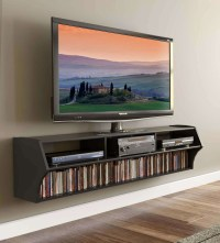 2018 Latest Wall Mounted Tv Cabinets For Flat Screens With ...