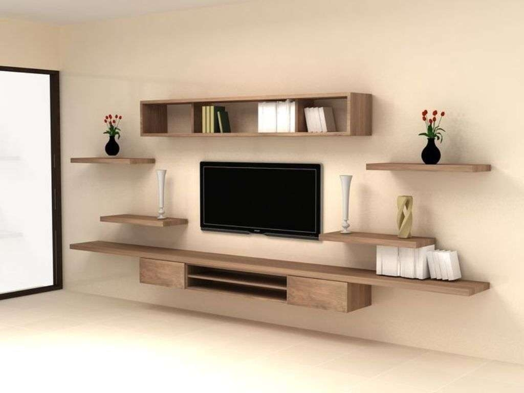 20 Photos Wall Mounted Tv Cabinets For Flat Screens