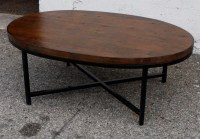 Displaying Gallery of Oval Walnut Coffee Tables (View 13