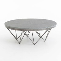 2018 Best of Marble Base Glass Top Coffee Table