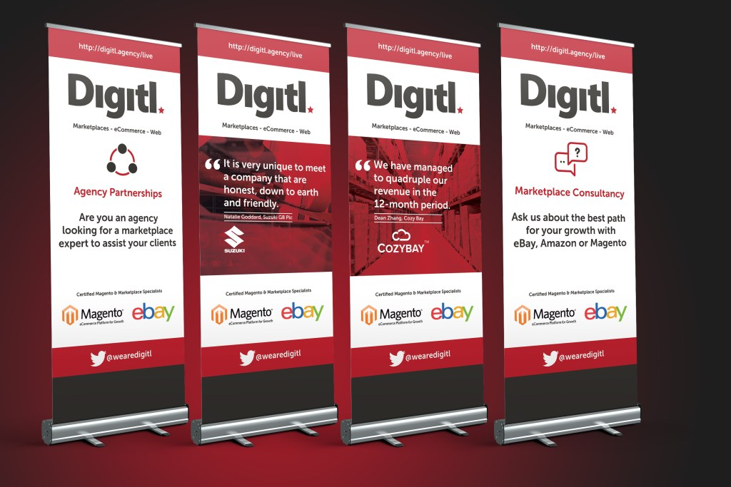 Roller Banner & Pop Up Banner Designs