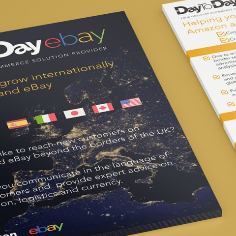 Conference starter pack flyers and popup design