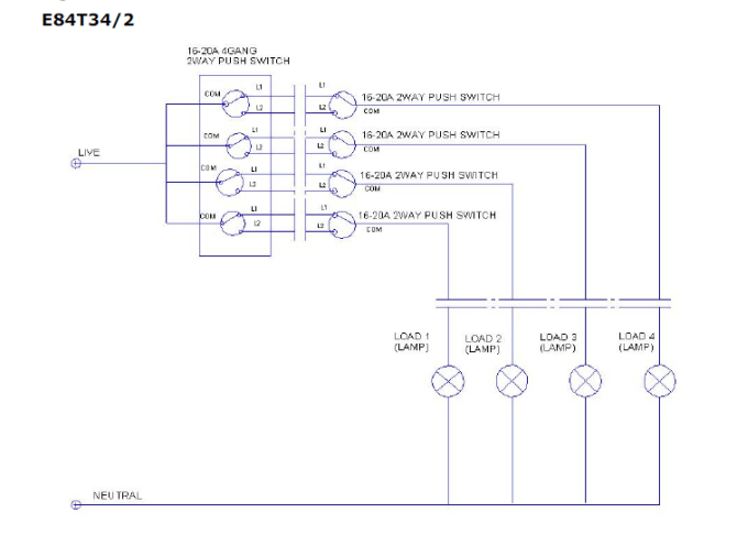 wiring diagram of e84752d500 e8431d20 and e84t34/2