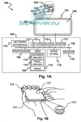 Sony патентует свой вариант PSP Phone с тактильными
