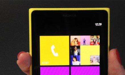 صورة جهاز جديد قادم من Nokia بشاشة عملاقة