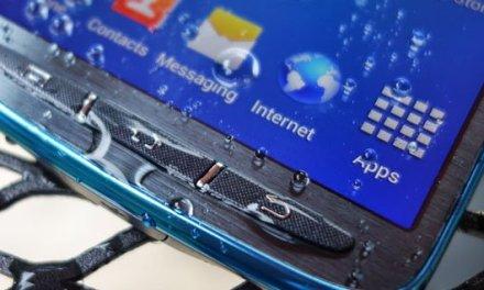 هاتف Galaxy S5 مقاوم للماء بإصداره الرئيسي