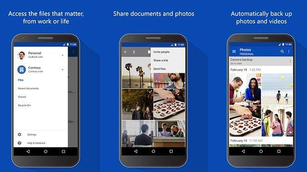 تحديث جديد على تطبيق OneDrive أندرويد يدعم الأوفيس