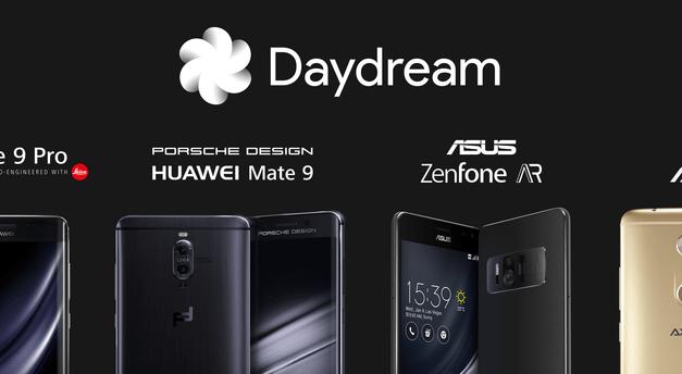 اجهزة جديدة تُضاف لقائمة الأجهزة الداعمة لحلم اليقظه DayDream من #قوقل