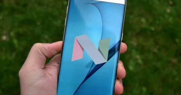 هواتف #سامسونج S7 و S7 Edge تحصل على تحديث Nougat 7.0