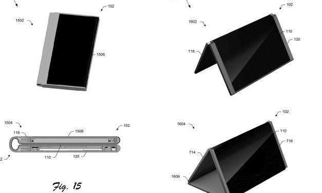 تسجيل براءة إختراع لهاتف قابل للطي لـ #مايكروسوفت يمكن تحويله إلى حاسب لوحي