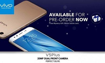 رسميا: هاتف vivo V5 Plus متاح للحجز المسبق الآن بسعر 400$