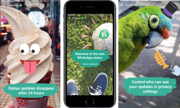 رسميا: واتس آب تعلن عن ميزة مشاركة الصور والفيديو كتحديث حالة في تطبيقها