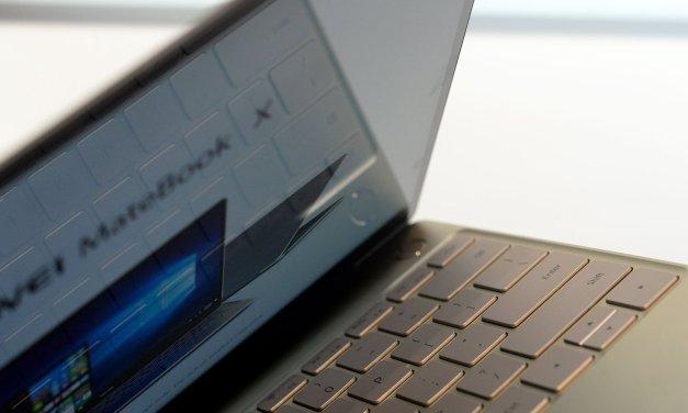 جهاز MateBook Xأصغر حتى من ورقة A4 من Huawei