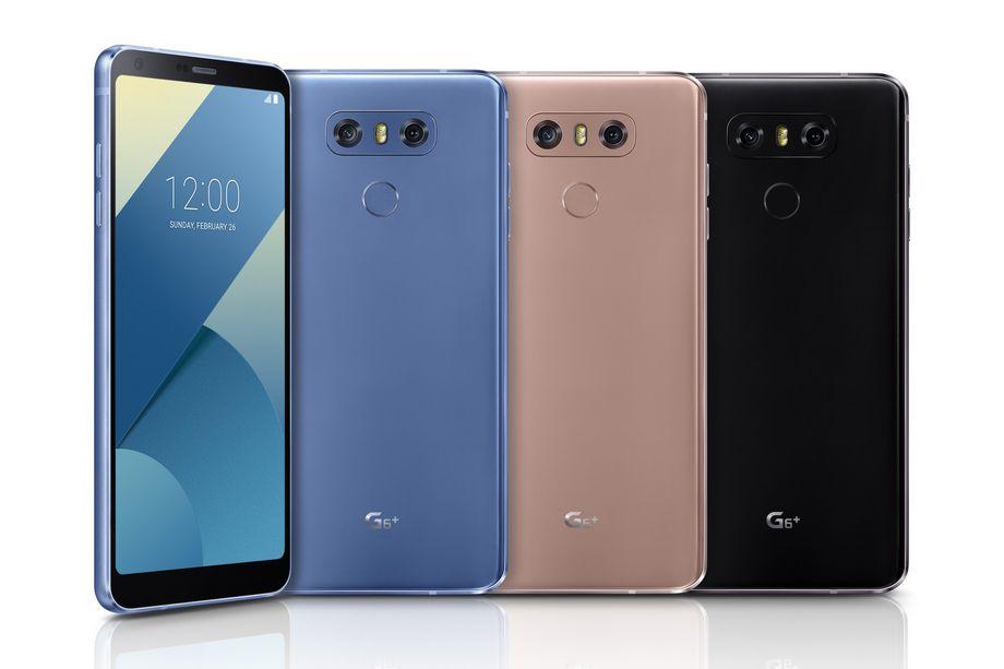 رسميا.. #إل_جي تكشف عن هاتف  G6_Plus# بذاكرة داخلية 128جيجا بايت