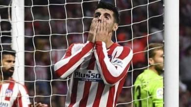 """صورة أتليتكو مدريد يتعثر مرة أخرى أمام """""""