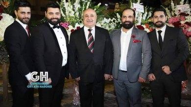 Photo of المنتج السوري علي عنيز يحتفل بزواج أخيه عدي