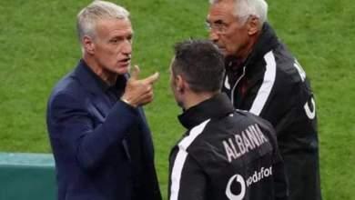 صورة مدرب فرنسا يعتذر من المنتخب الألباني بسبب مهزلة النشيد الوطني