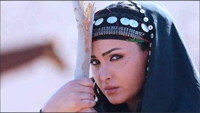 صورة قمر خلف تشارك رشيد عساف البطولة في المسلسل البدوي صقار