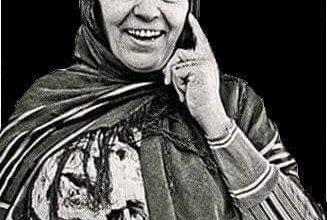 """صورة الزّهرة فائزة"""" من رائدات الجيل الثّالث للمسرح في تونس.."""