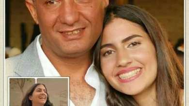 """صورة حكاية """"الملاك النائم"""" فريدة ووالدها هشام أمجد"""