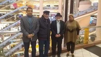 صورة لقاء سفير السلام الدولي الدكتور إياد أيزار مع الدكتور إبراهيم عبد الحميد