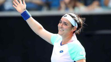 صورة أُنس جابر تطيح بكارولينا بليسكوفا من بطولة قطر للتنس