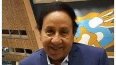 """صورة """"محب غبور """"مكرمافي مؤتمرالشباب والسلم المجتمعي في جامعة الفيوم"""