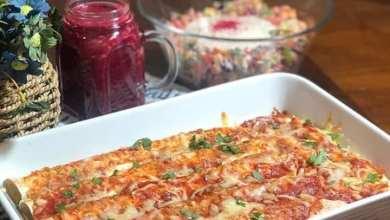 صورة طريقة عمل كساديا تورتيلا بصوص البيتزا