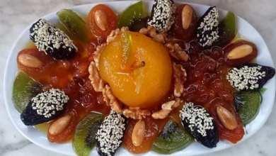 صورة تحضير طاجين الحلو من المطبخ الجزائر ي