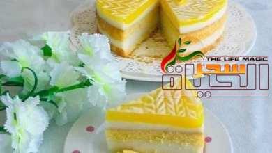 صورة طريقة تحضير كيكة الليمونالشهية