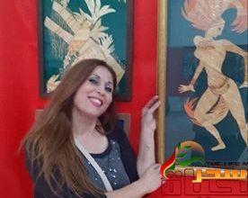 "Photo of ""أنجيلا إبراهيم "" استمد لوحاتي من الطبيعة ..مجالات الحياة متشابهة ولكن الإبداع هو عدم التقليد"