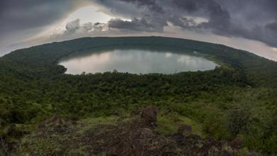 صورة بحيرة هندية عمرها 50 ألف عام تحير العلماء