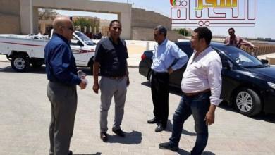 صورة رئيس جامعة أسوان : يتفقد مستشفي اليوم الواحد بأسوان الجديدة تمهيدا لافتتاحها قريبا