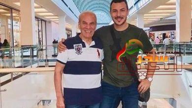 صورة باسل خياط ينعي والده بهذه الكلمات المؤثرة