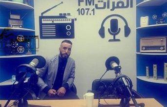 """صورة """"ليث جبار محمد """" لكل صحفي له حضور شخصي يكتب له ..ولدي طموح في كتابة مسلسل درامي إذاعي"""